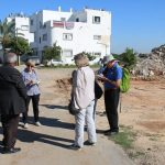 Learning about the recent demolitions in Dahmash