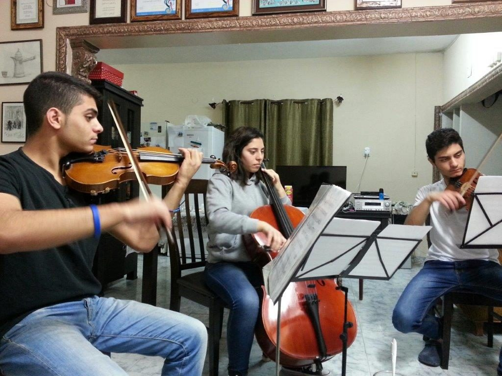 Image of Saad Trio playing