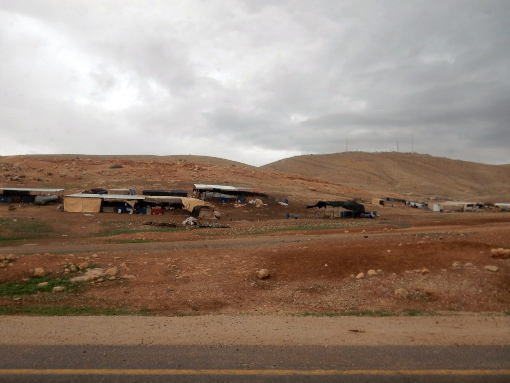 Bedouin villages in the Jordan Valley
