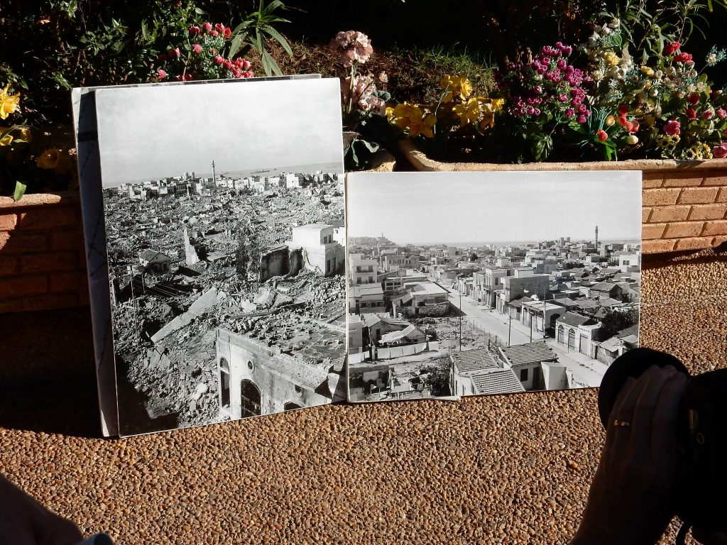 Photos of Jaffa before the Nakba, and after the 1948 bombardment by Jewish militia