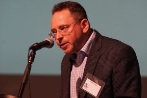 Robert Cohen addressed ICAHD UK's conference